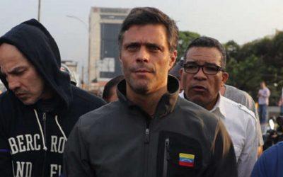 Ordenan detener a Leopoldo López en la residencia del embajador español