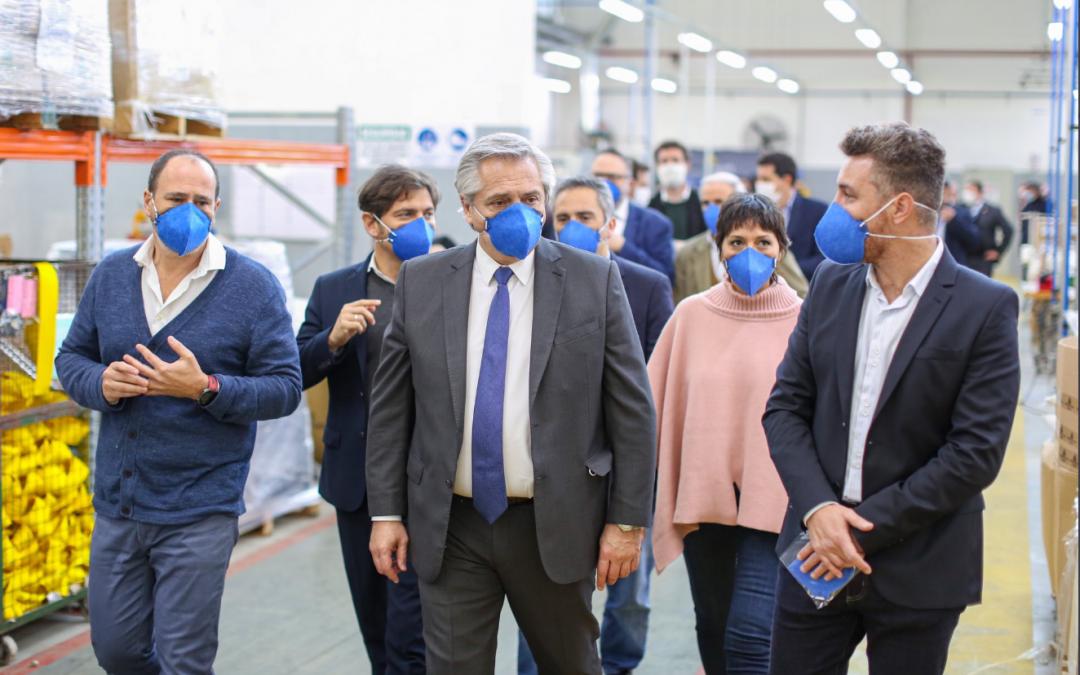Coronavirus: se reinventaron en la producción de insumos para la pandemia